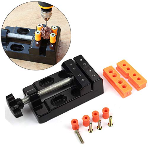 Mini Flat Clamp table jewelry Jaw Bench Clamp Drill Press Vice Opening Parallel Table Vise DIY Sculpture Craft Carving Tool