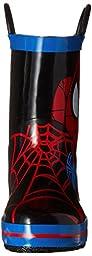 Disney Spider-Man Rain Boot (Toddler/Little Kid), Red, 12 M US Little Kid