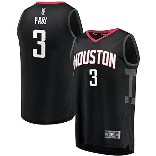 Fanatics Branded Fanatics Branded Chris Paul Houston Rockets Black Fast Break Replica Jersey - Statement Edition スポーツ用品 【並行輸入品】 B07FSKR9S4 XL