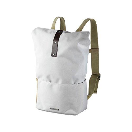 Brooks England Hackney Backpack, White/Choco