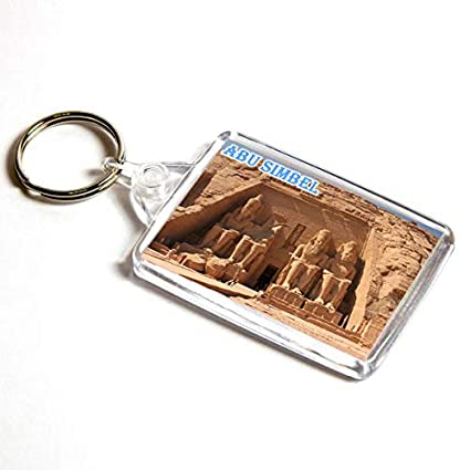AWS Llavero Abu Simbel Egipto Souvenir Egypt Abu simbal Key ...