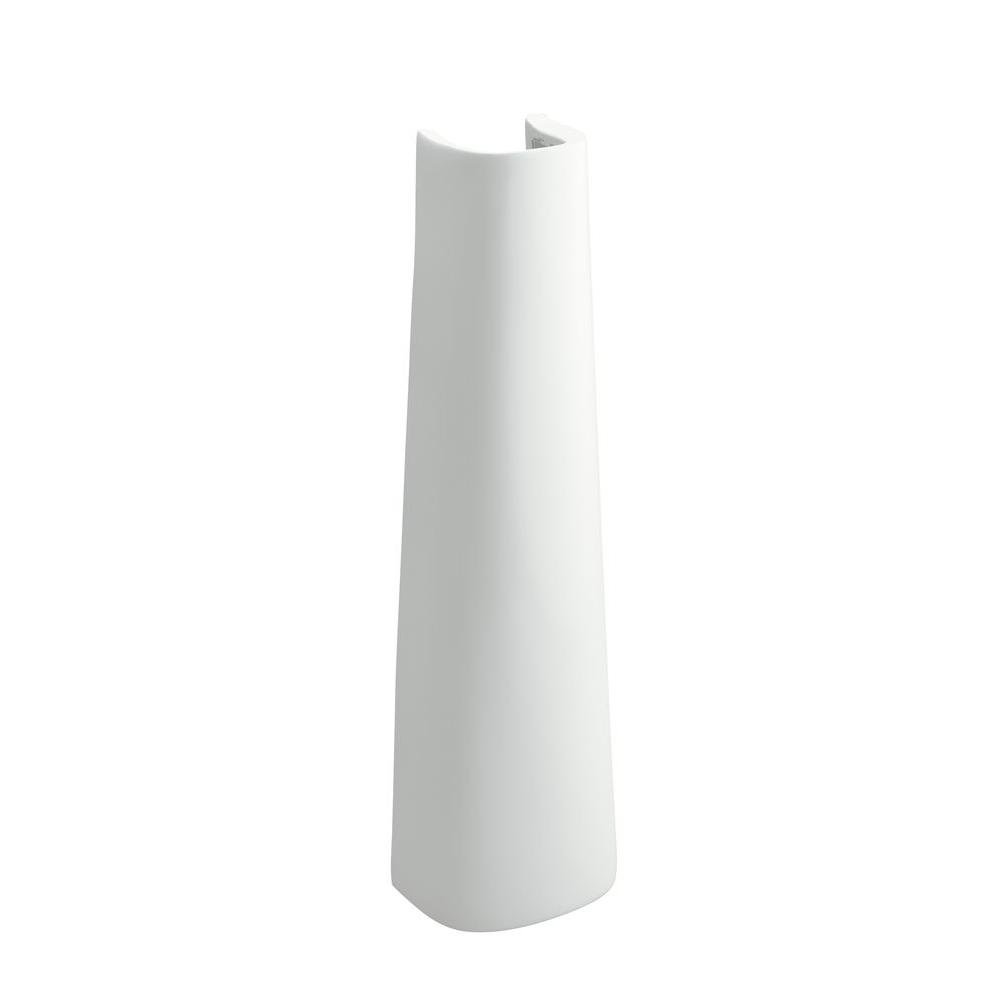 STERLING 448120-0 Sacramento Pedestal Only, White by STERLING, a KOHLER Company