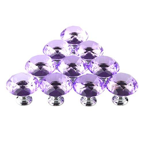 purple cabinet knobs - 9