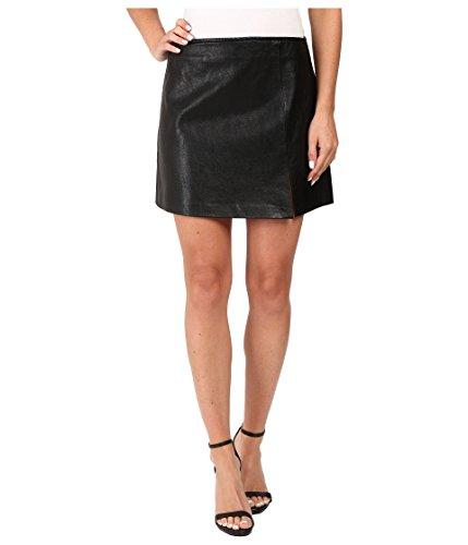 Blank NYC Women's Vegan Leather Mini Skirt in Break The Ice Black Skirt 29