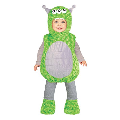 Lil' Alien Toddler Costume 2-4T - Wholesale Halloween Costumes Promo