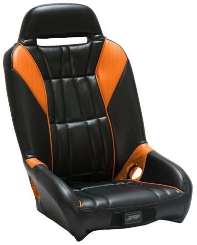PRP Seats A21 Orange Madness GT Suspension Seat for Polaris RZR Polaris Rzr Suspension