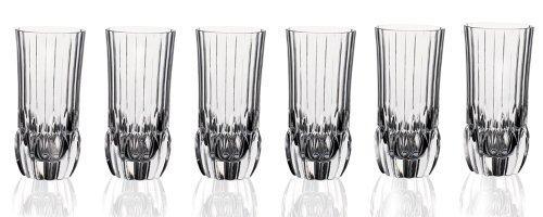 RCR Crystal Adagio Collection High Ball Glass Set by Lorenzo by Lorenzo