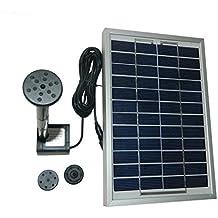 Gofurther GYD050 12V 5W Solar Power Panel Kit Water Pump For Garden Pond Fountain Pool Plants Caring Bird bath