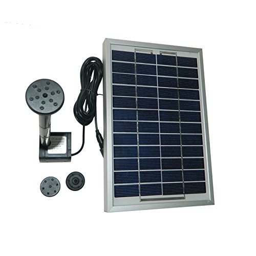 Gofurther Gyd050 12v 5w Solar Power Panel Kit Water Pump