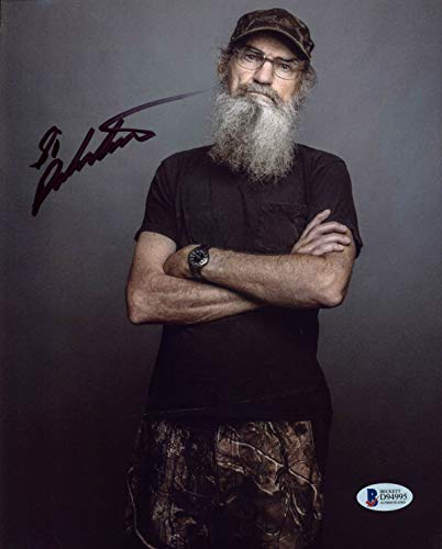 Si Robertson Duck Dynasty Authentic Signed 8x10 Photo Autographed BAS #D94995 - Robertson Signed Photo