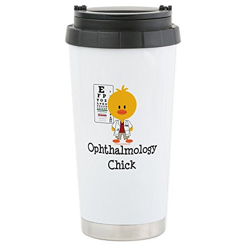 CafePress - Ophthalmology Chick - Stainless Steel Travel Mug, Insulated 16 oz. Coffee Tumbler
