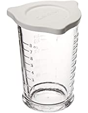 Anchor Hocking 77832 Triple Pour Measuring Cup, Glass, 8-Ounce
