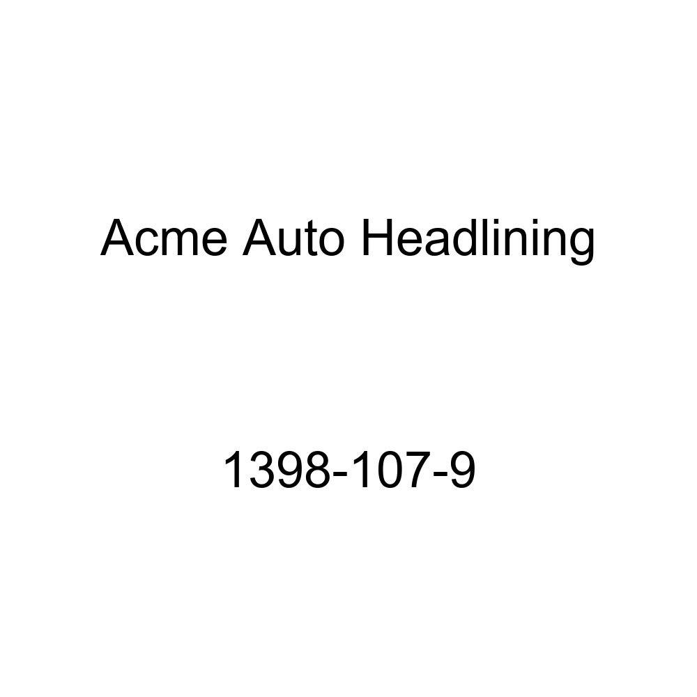 1959-60 Cadillac Series 62 4 Door Hardtop 6 Bows Acme Auto Headlining 1398-107-9 Dark Brown Replacement Headliner