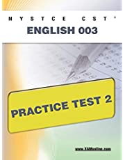 NYSTCE CST English 003 Practice Test 2