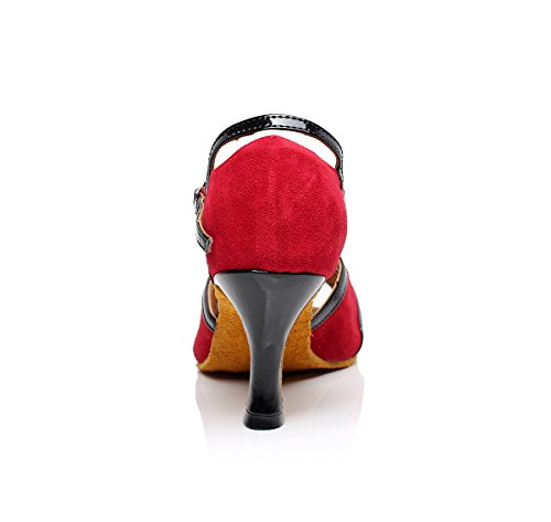 Minitoo rouge Salle bal Rouge femme de xqO1xRU