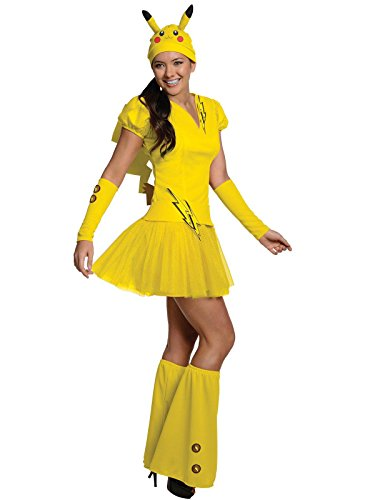 Rubie's Secret Wishes  Costume PokÃmon, Female Pikachu, Yellow, Large ()