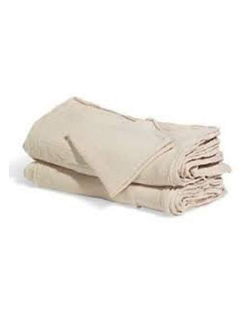 Sara Glove 14x14 Inch Shop Towel/Cleaning Mechanic Rags - 100% Cotton Commercial Towels, Perfect for Automotive Garage, Kitchen, Home (White) (500 Count)