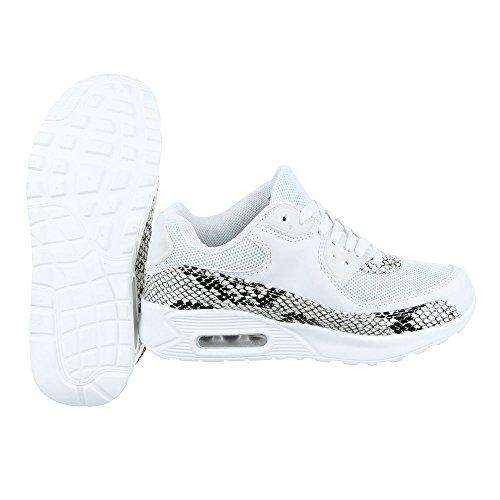 Nike Zapatillas de Material Sintético Para Hombre Weiß Size: 41 p6Zi5s