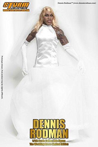 Amazon.com: 1/6 Collectible Figure Dennis Rodman The wedding dress ...