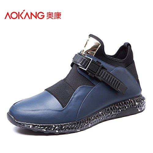 Aemember SCARPE DA UOMO AUTUNNO INVERNO alta ventilazione flusso aiuta gli studenti e versatile per lo sport ed il tempo libero di indossare le scarpe ,43, blu
