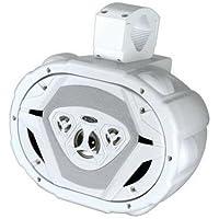 Boss Audio Boss Waketower MRWT69 550 W PMPO Speaker - 4-way - White MRWT69W