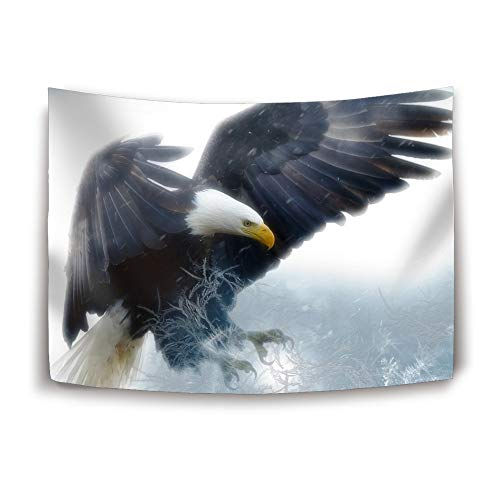 YIYIDongren Tapestry Bald Eagle Wall Hanging Bedspread for sale  Delivered anywhere in USA