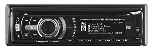505 Apple (Dual Electronics XDMA6540 Multimedia Full Graphic LCD Single DIN Car Stereo with Built- In Bluetooth, CD, USB & MP3 Player)