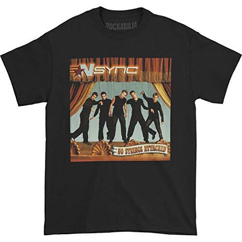 American Classics NSYNC No Strings Black Adult T-Shirt Tee