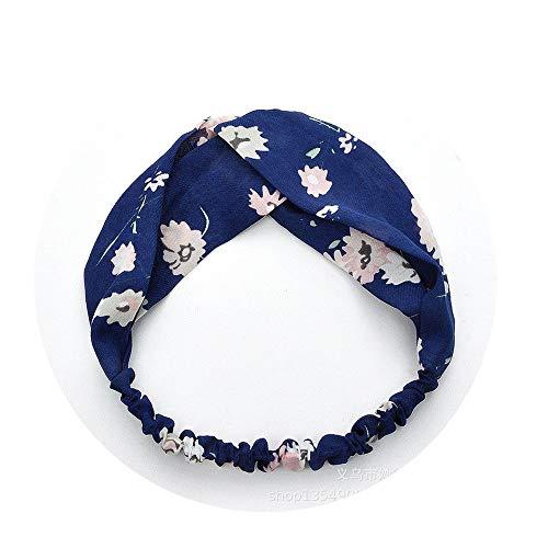 NDJqer Woman Summer Boho Headband Bezel Bohemian Headband Girls Bandage Bandanas Hair Accessories Headwear Style 33