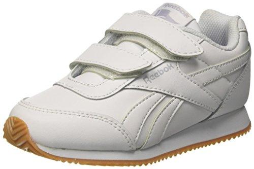 Reebok Royal Cljog 2 2v, Zapatillas de Running para Niños Blanco (White/Cloud Grey/Gum 000)