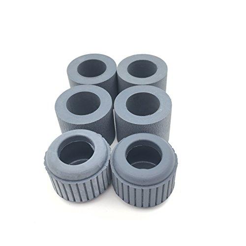 (OKLILI 8927A004 Exchange Roller Kit Pickup Feed Separation Roller Tires Rubber for Canon DR-6050C DR-6080C DR-7550C DR-7580C DR-9050C)