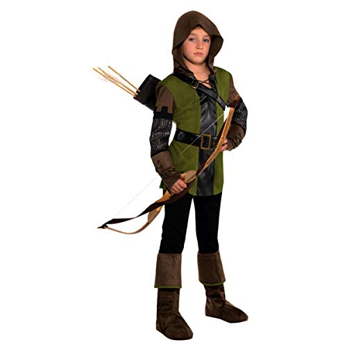 Amscan Boys Prince of Thieves Robin Hood Costume - Small (4-6) | 2 Ct.]()
