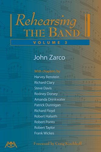 Pdf eBooks Rehearsing the Band, Volume 3