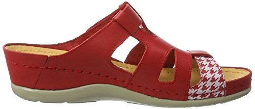 Dr. Brinkmann 701042, Women's Mules Red (Red)