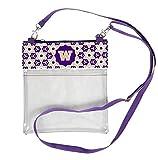 Desden Washington Huskies Clear Gameday Crossbody Bag
