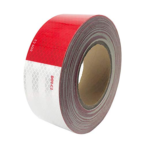 Dot-C2 RedWhite Reflective Safety