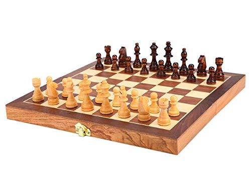 dxx Magnética Juego de ajedrez magnético de viaje Conjunto 3 en 1 Ajedrez Backgammon Damas Conjunto para adultos de los…