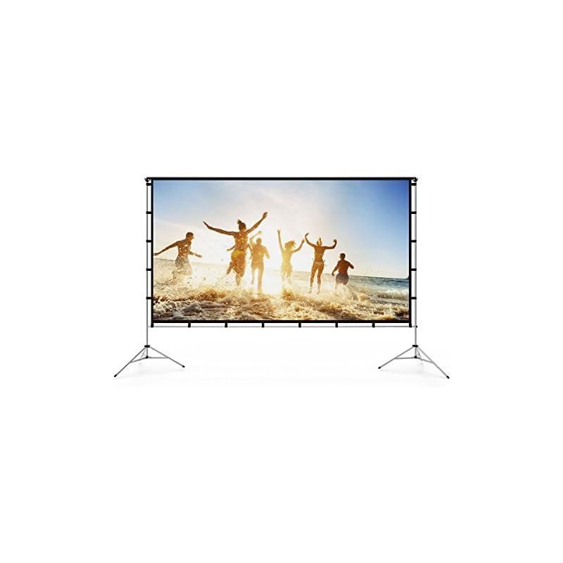 Vamvo Outdoor Indoor Projector Screen St