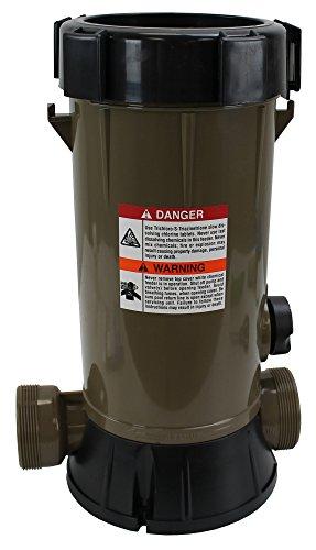 HydroTools by Swimline Super Premium In-Line Automatic Pool Chlorine Feeder ()