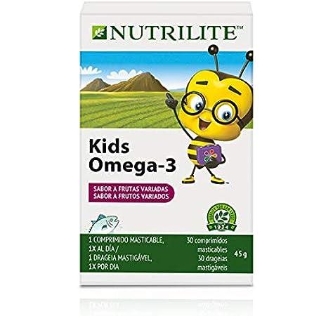 Kids Omega-3 NUTRILITE para niños gelatina masticable: Amazon.es: Salud y cuidado personal