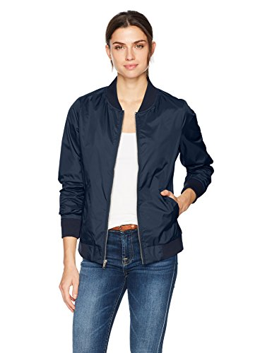 - Charles River Apparel Women's Boston Flight Jacket, Navy, XS