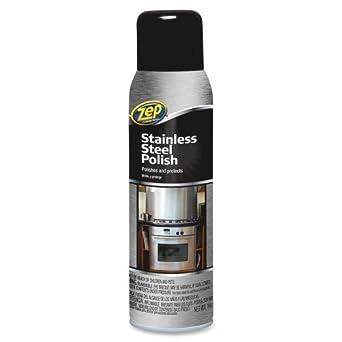 Amazon.com: Zep Acero Inoxidable Spray Cleaner – Aerosol ...