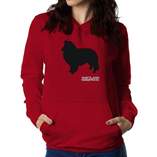 Teeburon Shetland Sheepdog Women Hoodie