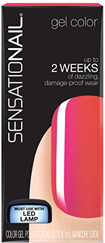 - Sensationail Women's Tropical Punch Gel Color Health and Beauty - Tropical Punch