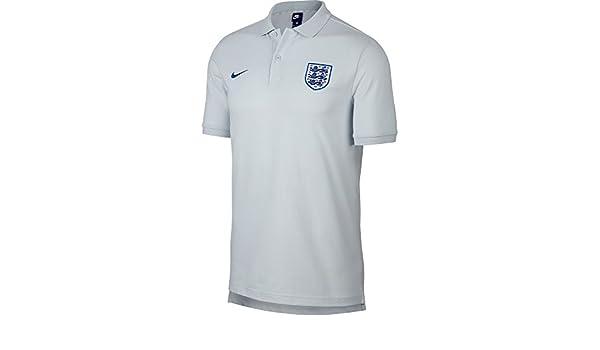 Nike 2018/2019 - Polo de Inglaterra, Color Gris, XXL, Negro ...