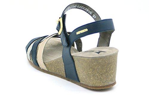 Sandales Sandales De De Mode Féminine Mephisto Bleu gO601q