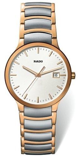 Rado-Centrix-Mens-Quartz-Two-Tone-Stainless-Steel-Watch-R30554103