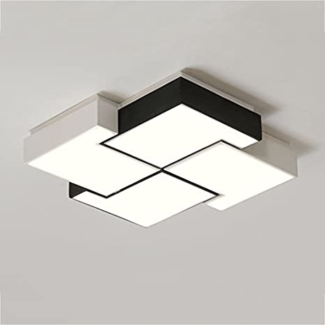 Amazon.com: $Ceiling Lighting Square Ceiling Lamp, Romantic ...