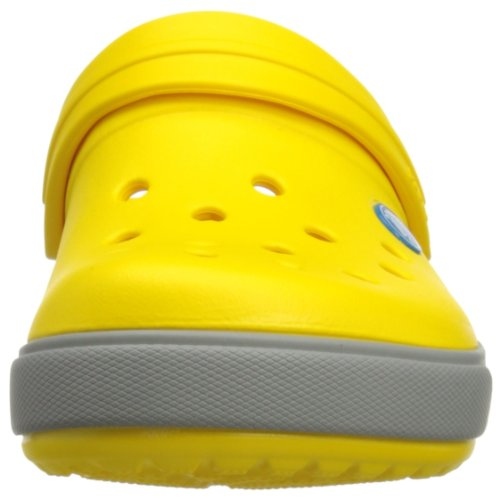 Adulte Grey Crocs Mixte Light Sabots Jaune Crocband Yellow qtPxZSCw