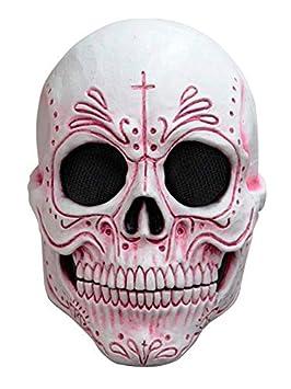 DISBACANAL Mascara Catrina Mexicana Rosa